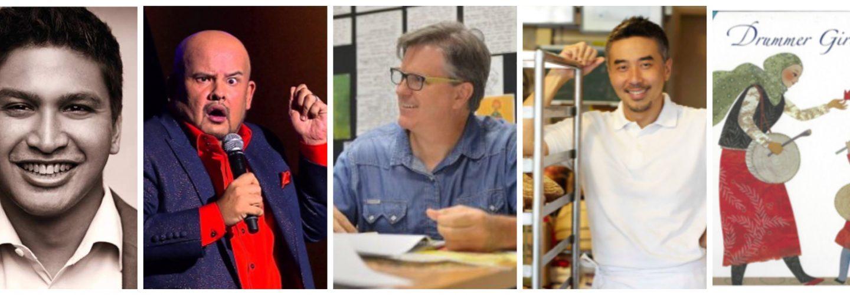 CoMEL 2018-speaker collage II