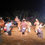 Musical Drama Staged on a Paddy Field in the Concrete Jungle