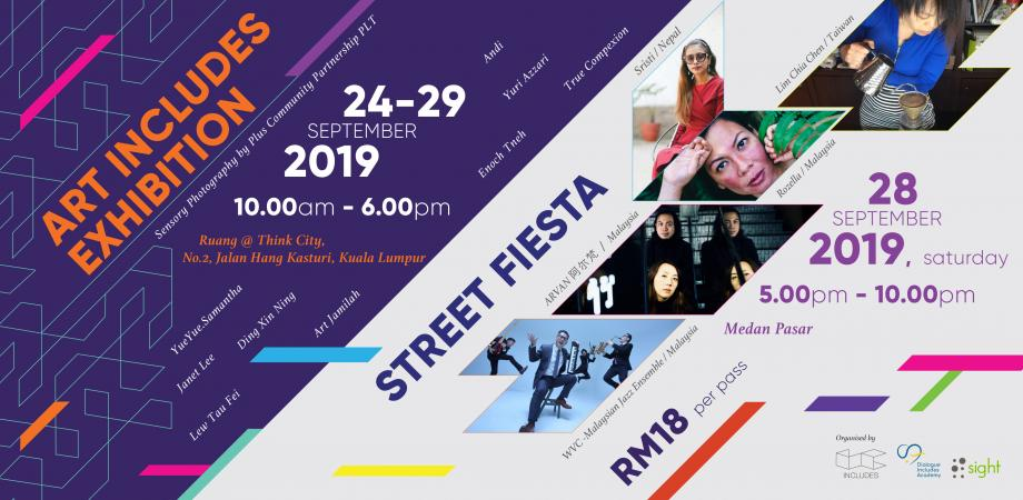 Art Includes 2019: Inclusive Street Fiesta and Exhibition