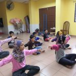Dance Class Kick Off At Apartment Putra Ria